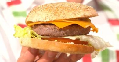 Panino hamburger è sempre mezzogiorno