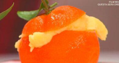 Sorbetto mandarino è sempre mezzogiorno