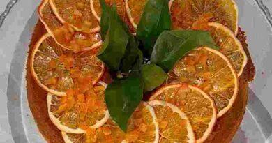 Chiffon cake arancia è sempre mezzogiorno