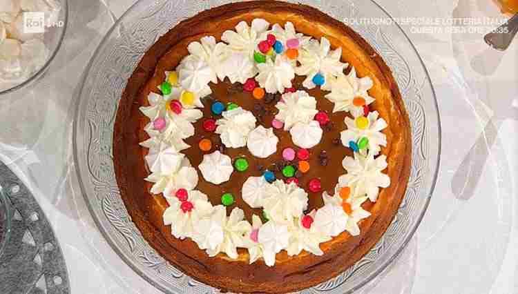 cheesecake al forno è sempre mezzogiorno