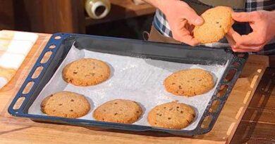 Cookies segale farro è sempre mezzogiorno