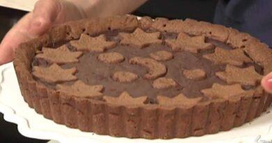 Cotto e mangiato crostata morbida al cioccolato
