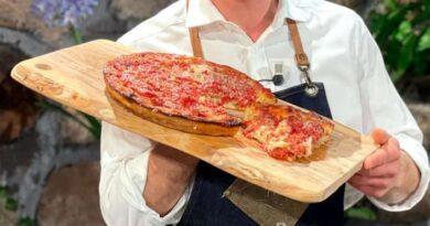 Pizza chicago style è sempre mezzogiorno